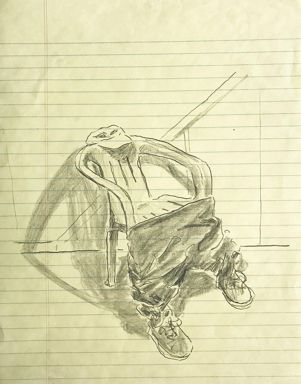 """De la serie """"Si una silla utilizara pantalones"""", 2018."""